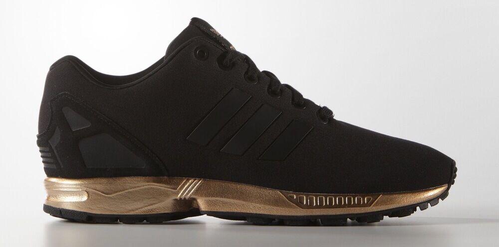 adidas zx flux zwart brons