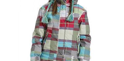 686 Smarty Jacke (686 Mädchen Smarty Kariert Snowboardjacke S Tutti Frutti)