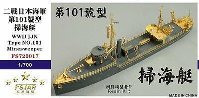 Five Star 720017 1 700 Wwii Ijn Type No 101 Minesweeper Resin Kit