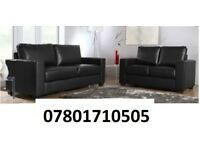 SOFA 3+2 BLACK OR BROWN SOFA JANUARY SALE Italian leather SOFA SET