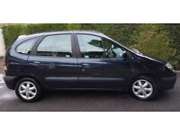 Renault Scenic Sport Alize 1.6 petrol, 75,500 miles, 2000W reg. One owner from new, air conditioning