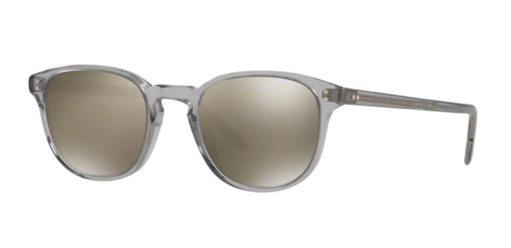 Oliver Peoples Kannon Sunglasses Silver  Gray Polarized OV1191S 5036K8 59-15-140