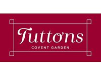 Assistant Manager - TUTTONS - Covent Garden, London