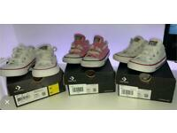 Kids converse trainers