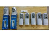 Remote Control Automatic Air Freshener Dispenser Perfume Aerosol Wall Mounted
