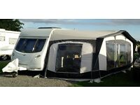 Bradcot Olympian Caravan Awning 2016 - Excellent Condition - Full Size Lunar Swift Sprite Twin Axle