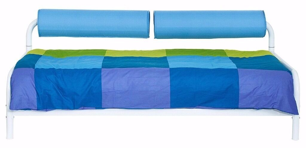 HelloHome Bolster Day Bed NEW BARGAIN Blue or Pink RRP £200