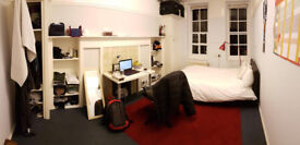 Spacious Room in Bloomsbury Hall, 5 Minute Walk to UCL, Russel Square, Euston, etc