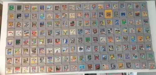 gameboy lot games jeux spelletjes games nintendo lot 180