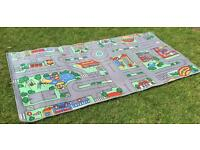 Large Childs Car playmat/rug (1m by 2meters)