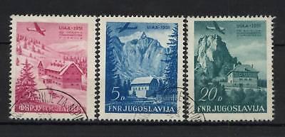 Yugoslavia 1951 SG#687-9 Mountaineering Used Set