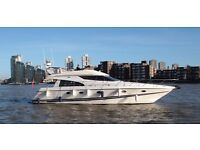 Yacht Charter Hire for Photoshoots | Overnight Stay | Birthday Parties | Special Occasions | Chelsea