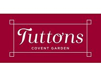 Sous Chef (Up to £35k)- TUTTONS - Covent Garden, London