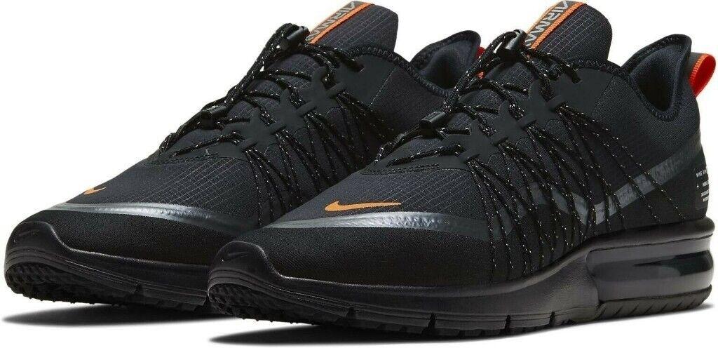 precio competitivo estilo actualizado nuevo autentico Brand New Mens Nike Air Max Sequent 4 Utility Sheild Black Trainers - | in  Tooting Bec, London | Gumtree