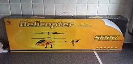73cm Large 3.5 CH RC Helicopter 40MHz Radio Remote Controlled - SF557 - Golden