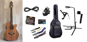 """""""Free Shipping"""" Acoustic Electric Guitar Unique style 40 inch Walnut iMG845EQ with Full Package"""