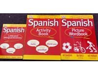 Beginner's Guide to Spanish - including 3 detailed books
