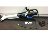 Mac Allister MBV 3000 Electric Garden Leaf Blower Vacuum - Used