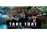 Take that 3 arena standing ticket ( less than face value )