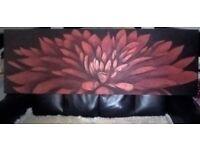 lotus flower canvas