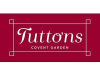 Kitchen Porter - TUTTONS - Covent Garden, London