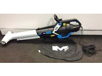 Mac Allister MBV 3000 Electric Garden Leaf Blower Vacuum