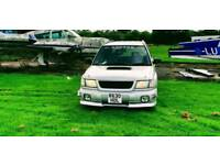 Subaru Forester JDM Automatic 330bhp Reliable Many extras included Show Car