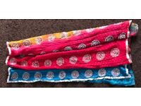 Beautiful 3 color scarf urgently selling