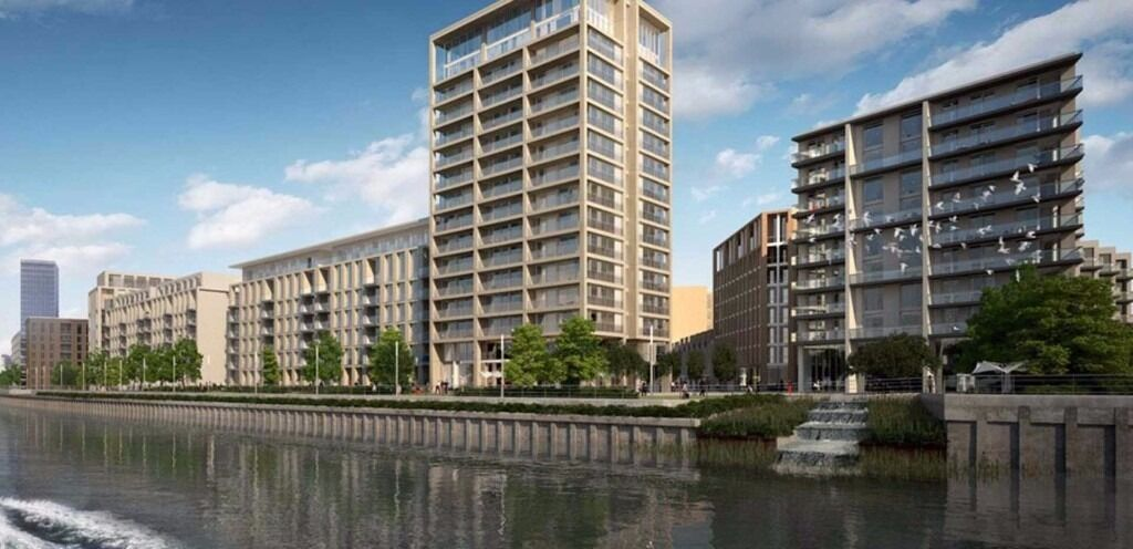 **BE THE FIRST TO LIVING IN THIS STUNNING NEW BUILD APARTMENT**Pontoon Dock and Silvertown DLR