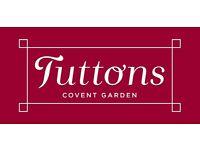 Wait Staff - TUTTONS - Covent Garden, London