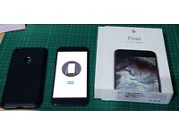 Google Pixel XL 32gb Quite Black, & a Spigen Case, Unlocked to any network. Very Good Condition