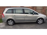 FOR SALE Vauxhall Zafira Exclusive 1.6 Petrol