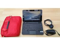 HP Mini 210 Notebook, Windows 7, 2GB RAM, 10.1 inch Widescreen, 160GB Hard Drive + Charger and Case