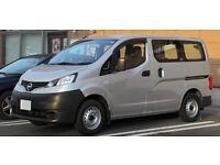 WANTED . . Nissan NV200 Combi or Camper, or Van with side-windows or Campervan
