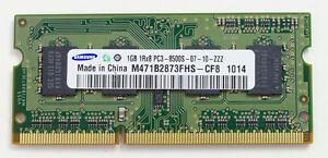 Laptop RAM (SODIMM) 1GB DDR3