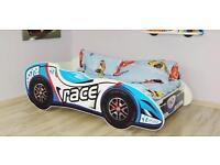 Racing car bed toddler 140x70cm