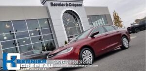 2016 Chrysler 200 LX **PLAN D'OR, A/C, CRUISE + WOW**