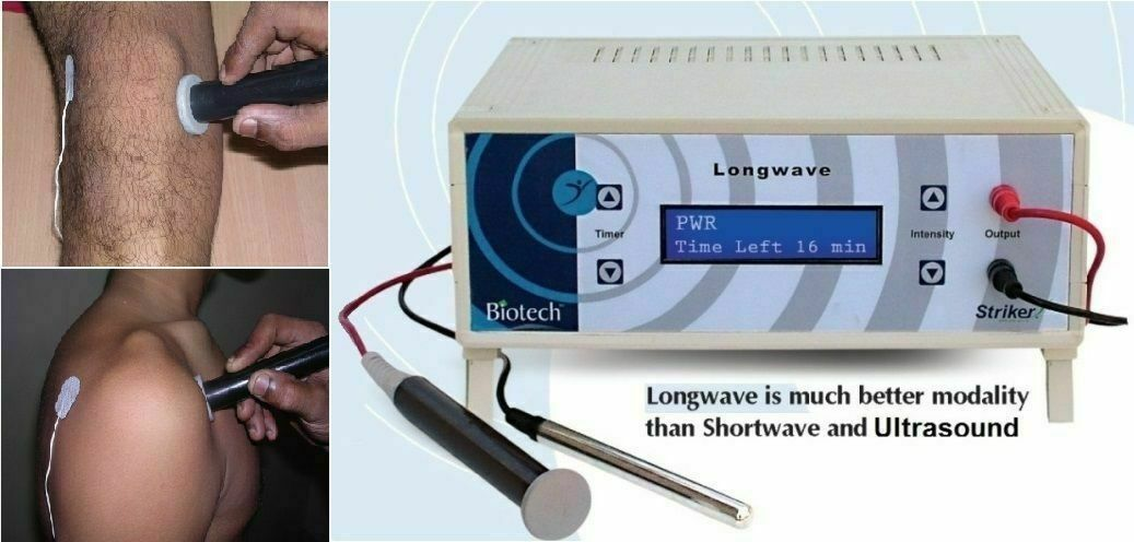 Best NEW HOSPITAL USE LONGWAVE THERAPY SHORTWAVE  THERAPY MACHINE