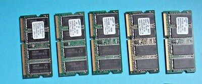 5x Cisco 1841 DRAM 256MB for Upgrade to 384MB (Max DRAM) CCNA CCNP CCIE
