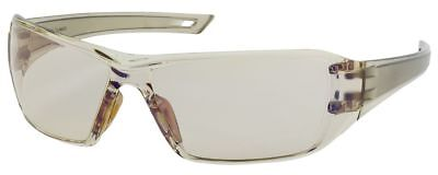 Bouton Captain Safety Glasses Brown Temple Indooroutdoor Blue Anti-fog Lens