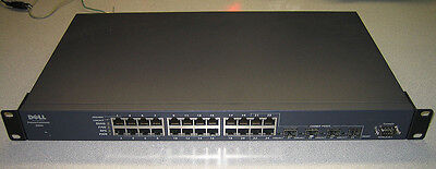 DELL POWERCONNECT 5224 24-PORT GIGABIT MANAGED SWITCH 8X158