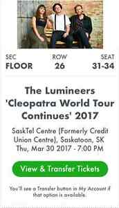 The Lumineers Concert Tickets