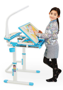 ARISTOTLE Children's Ergonomic Study Desk & Chair Set! NEW