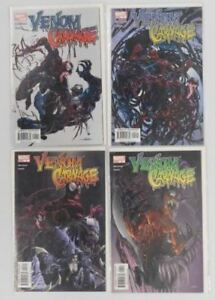 Venom vs. Carnage Full Set 1-4 First Appearance of Toxin