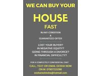 Need to sell quickly? We buy houses FAST