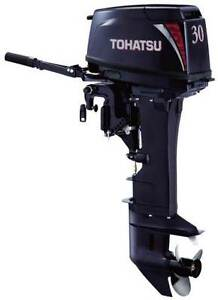 TOHATSU 30HP 2 STROKE SHORT SHAFT OUTBOARD Fremantle Fremantle Area Preview