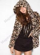 Pelzmantel Leopard