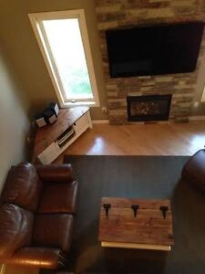 Custom Chest Style Coffee Table with Rustic Wood Top Peterborough Peterborough Area image 7