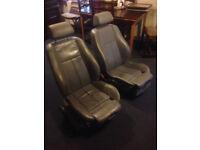BMW E39 leather sport seats