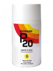 RIEMANN P20 ONCE A DAY 10 HOUR SUN PROTECTION SUN CREAM SPF10 (200ml)